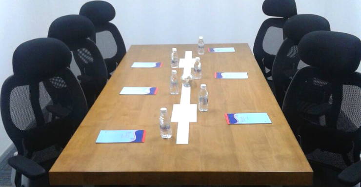 Book 6 Seater Meeting Room in Gachibowli Hyderabad