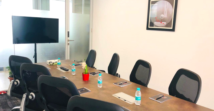 Book 8 Seater Meeting Room in Gachibowli Hyderabad