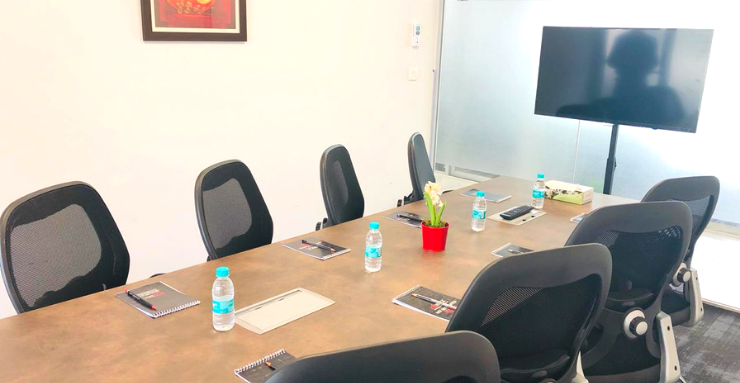 Book 8 Seater Meeting Room in HiTech City Madhapur